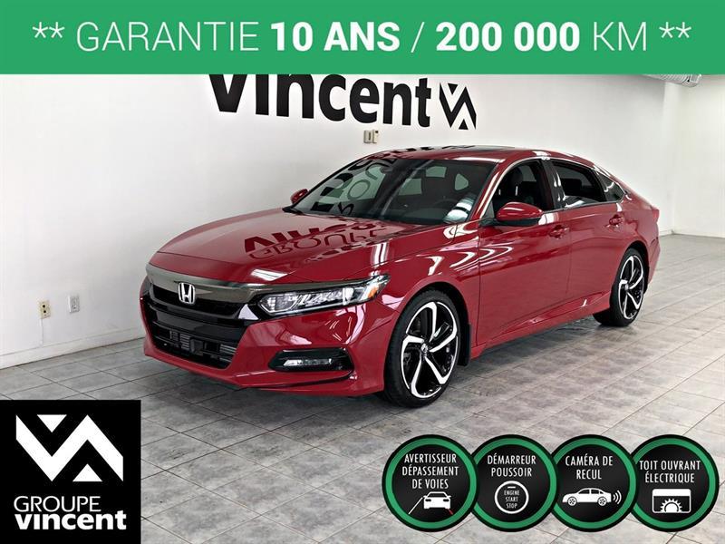 Honda Accord 2018 Sport  **GARANTIE 10 ANS** #A0593H