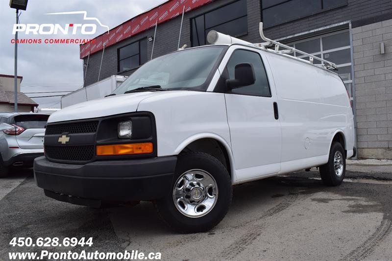 2012 Chevrolet Express Cargo Van 2500 ** 4.8L ** Gr. Électrique ** Full Rack **  #1835