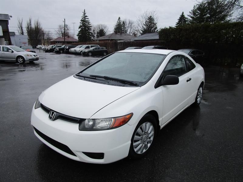 Honda Civic Cpe 2008 2dr Man DX-G #2495a