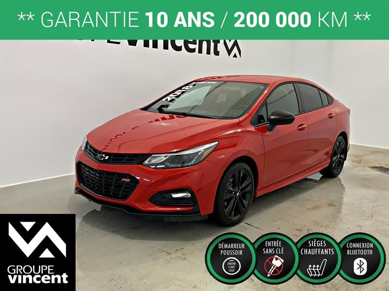 Chevrolet Cruze 2018 LT RS **GARANTIE 10 ANS** #9-403AT-V