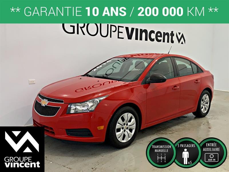 Chevrolet Cruze 2014 1LS **GARANTIE 10 ANS** #9-335AT