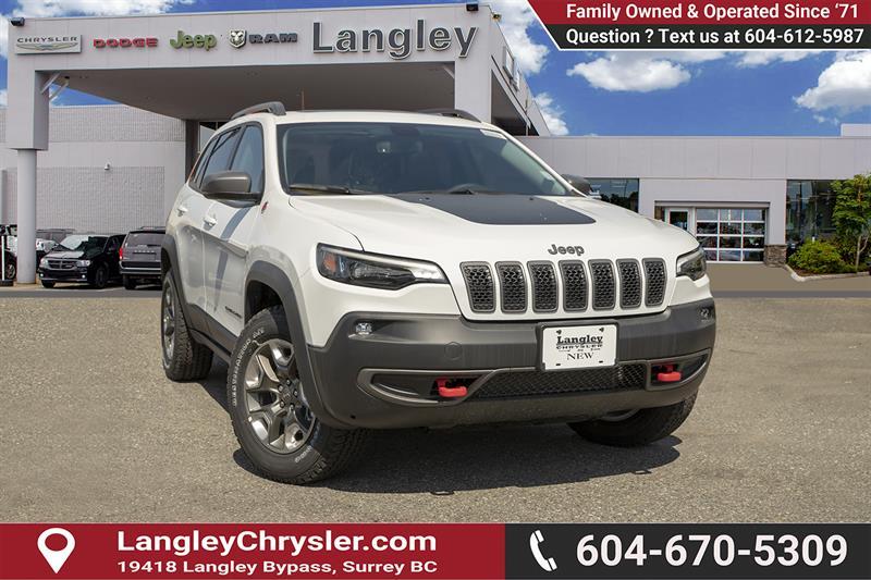 2019 Jeep Cherokee Trailhawk #K384708