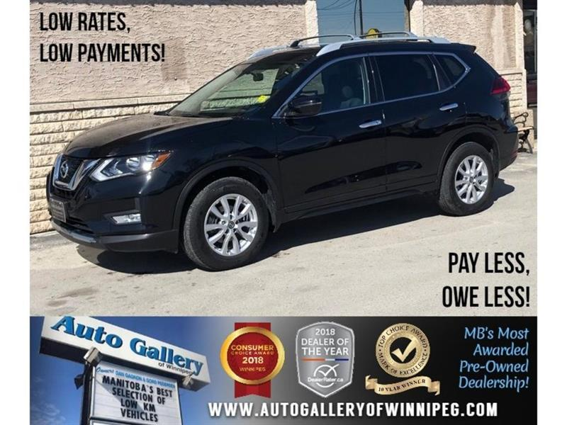 2017 Nissan Rogue SV *AWD/Bluetooth/Htd Seats/Roof #23813