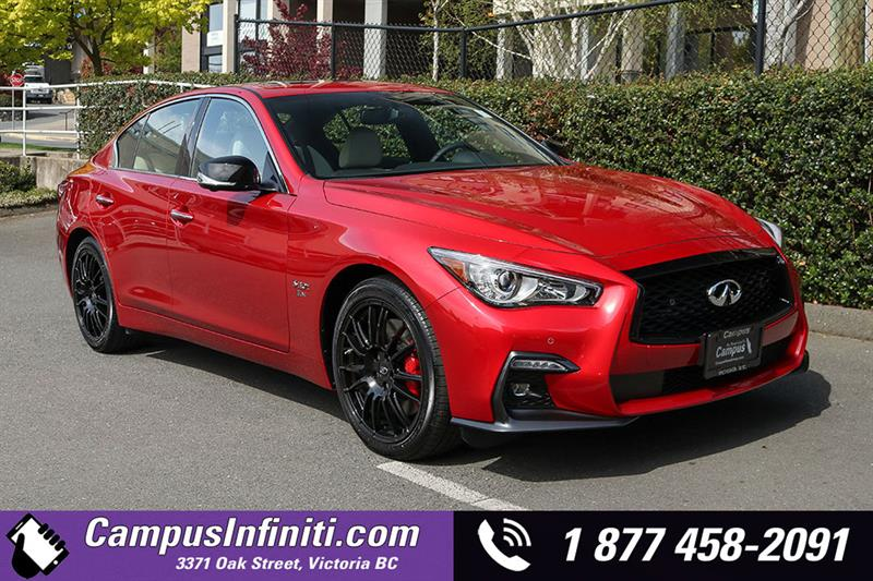 2019 Infiniti Q50 3 0t I-LINE RED SPORT New for sale in Victoria at
