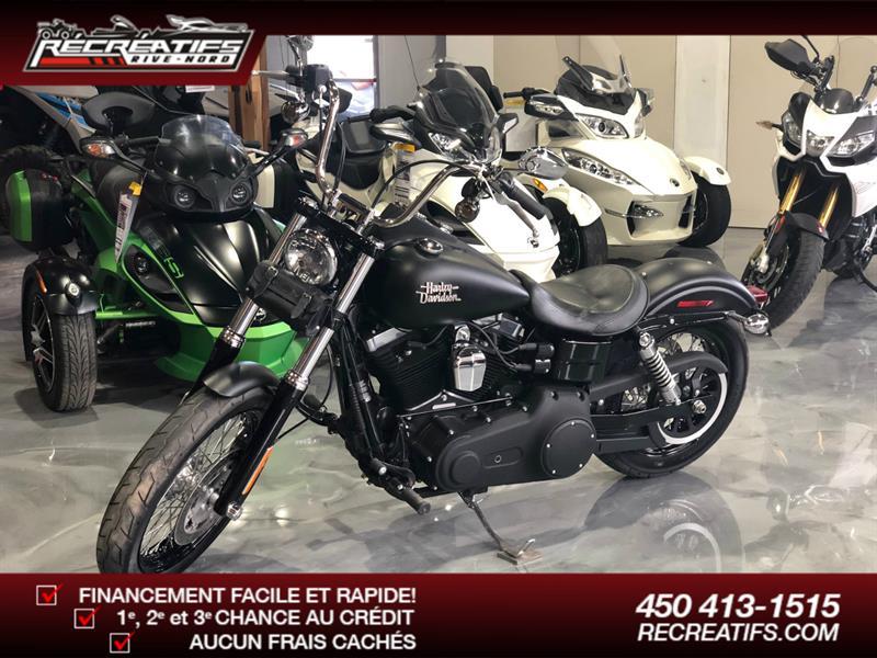 Harley Davidson FXDB 2013
