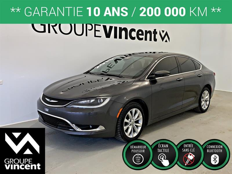 Chrysler 200 2015 C **GARANTIE 10 ANS** #9-205AT