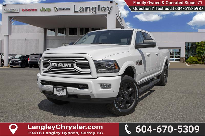 2018 Ram 3500 Laramie Used for sale in Surrey at Langley