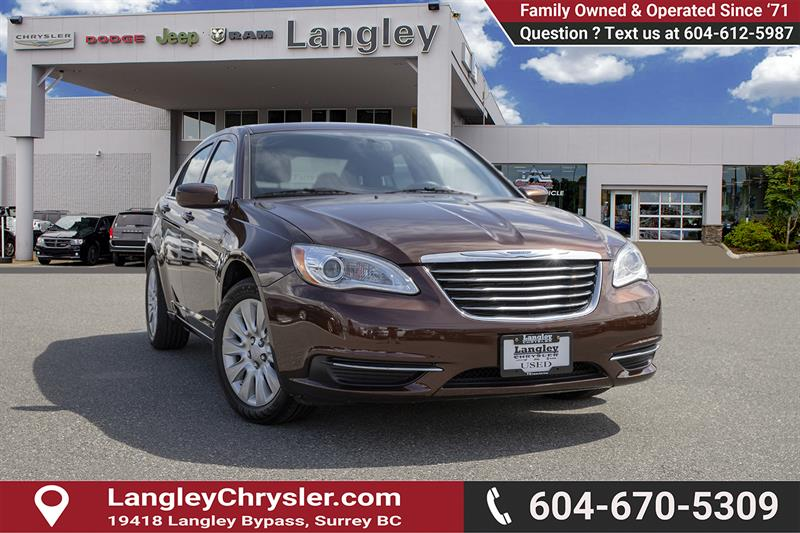 2012 Chrysler 200 LX #K564577AAA