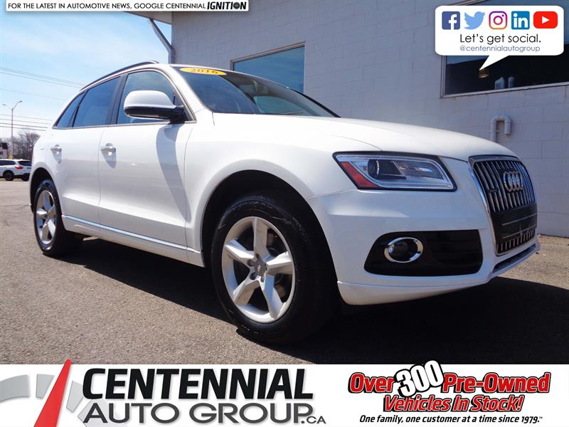 2016 Audi Q5 Quattro | 2.0T Komfort | Leather | Bluetooth | A/C #P19-057A