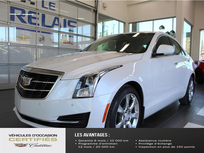 Cadillac ATS Sedan 2016 4dr Sdn 2.0L Luxury Collection AWD #K930010A