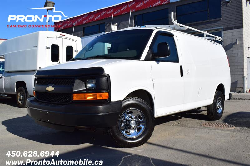 Chevrolet Express Cargo Van 2014 2500 ** 4.8L ** Gr. Électrique ** Full rack **  #1841
