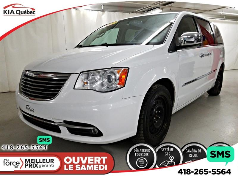 Chrysler Town & Country 2013 Limited * DVD *GPS *CAMERA *CUIR #K200002B