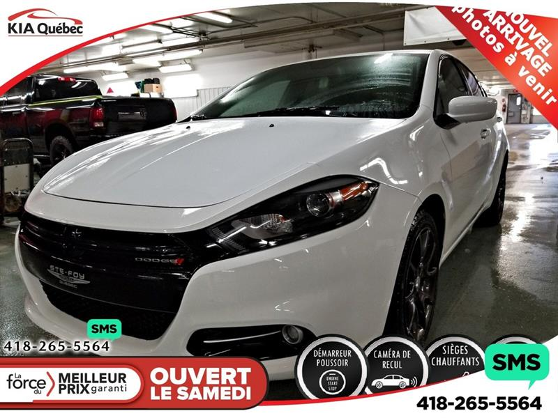 Dodge Dart 2016 SXT* RALLYE* SIEGES CHAUFFANTS* A/C* CAMERA #K190838A