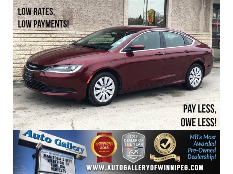 2015 Chrysler 200 LX *9Spd Auto/2.4L #23839