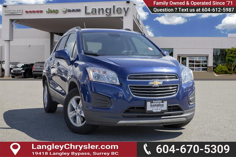 2016 Chevrolet Trax LT #EE900520A