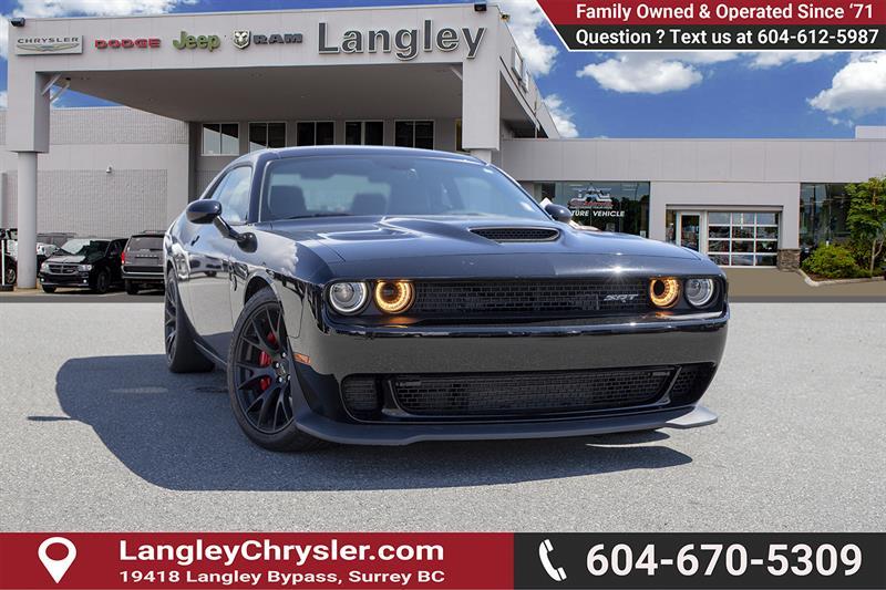 2016 Dodge Challenger SRT Hellcat #EE902580