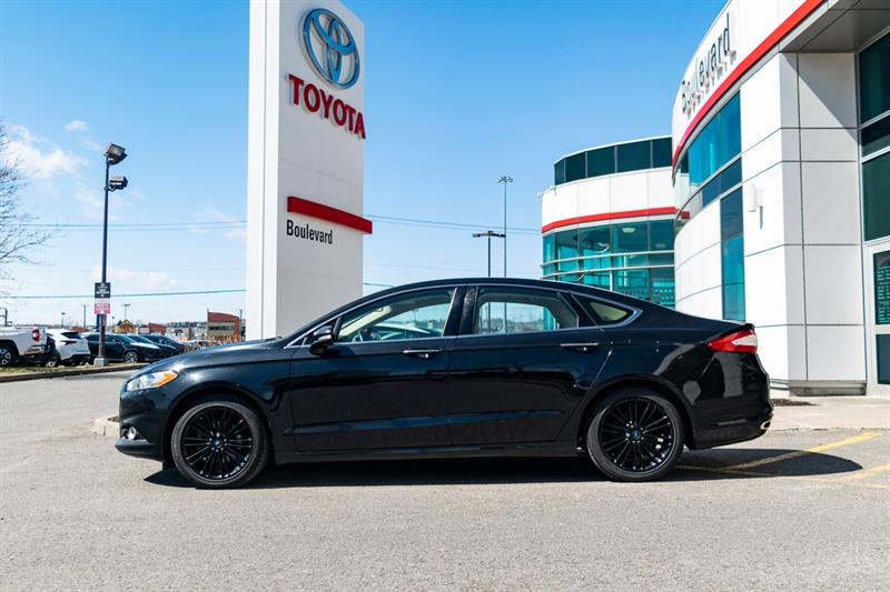 2014 Ford Fusion * SE ECOBOOST / CUIR + GPS + BALANCE GARANTIE * #85249A