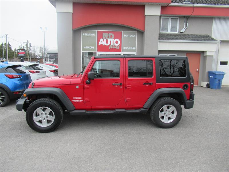 Jeep Wrangler Unlimited 2011 4WD 4dr Sport #10380