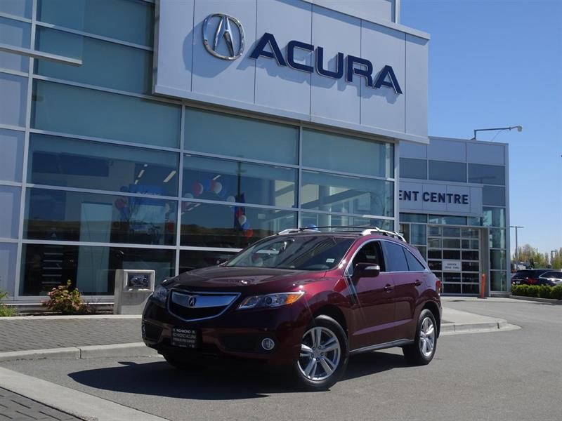 2015 Acura RDX Premium|Acura Certified|Local Car|One Owner|No Acc #937449A