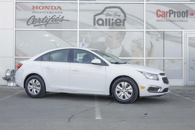 Chevrolet Cruze 2015 1LT ***JAMAIS ACCIDENTE*** #U19055