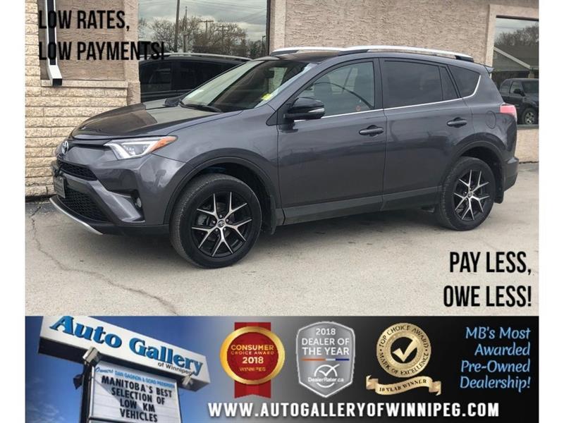 2016 Toyota RAV4 SE *AWD/Htd Lthr/Navi/Bluetooth #23824