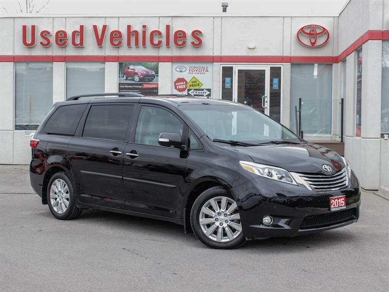 2015 Toyota Sienna Limited   Navi   Sunroof   Leather   H.Seats #L7988