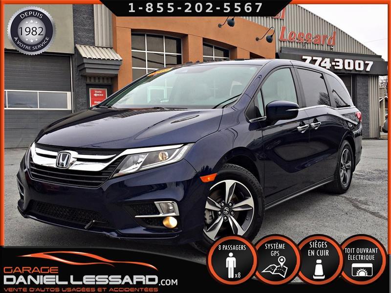 Honda Odyssey 2018 EX-L, CUIR, TOIT, GPS, MAG, CAMERA ET ++ #89221