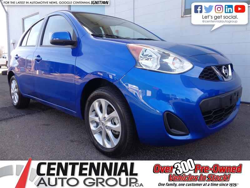 2018 Nissan Micra SV FWD *2018 CLEAROUT - SAVE $2,025* #18-074