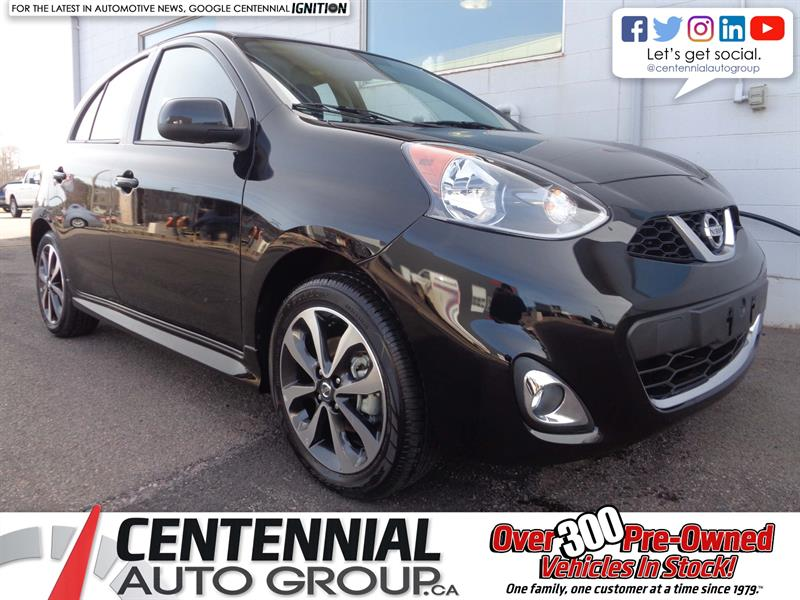 2018 Nissan Micra SR FWD *2018 CLEAROUT - SAVE $2,138* #18-152