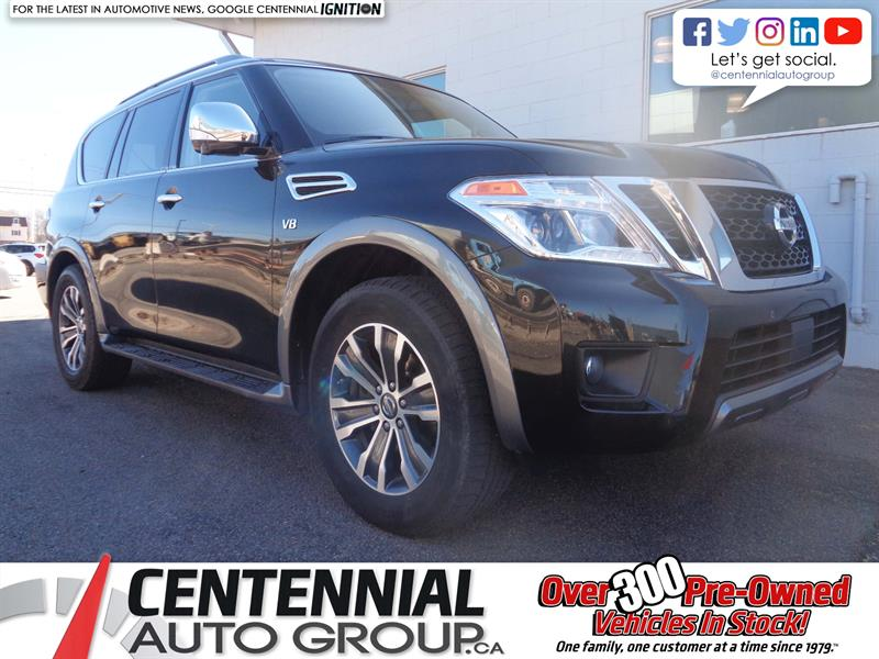 2019 Nissan Armada SL | 4x4 | Leather | Moonroof | NAV | Bluetooth #P19-059