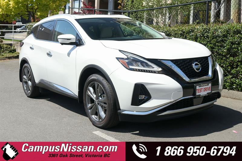 2019 Nissan Murano Platinum AWD w/ Leather & Moonroof #9-Q123