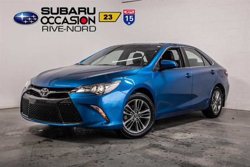 Toyota Camry 2017 SE MAGS+SIEGES.CHAUFFANTS+BLUETOOTH #943869