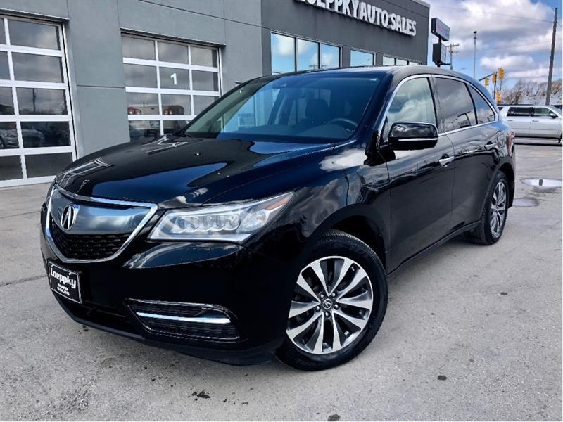 2016 Acura MDX SH-awd tech