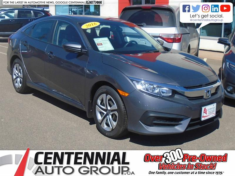2016 Honda Civic Sedan LX |  #9827A