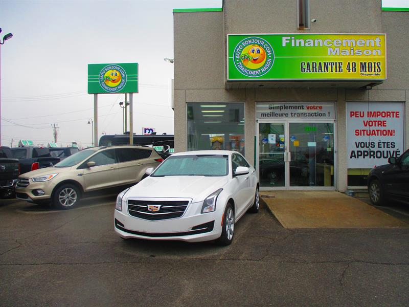 Cadillac ATS Sedan 2015 4dr Sdn 2.0L Standard AWD #19-074