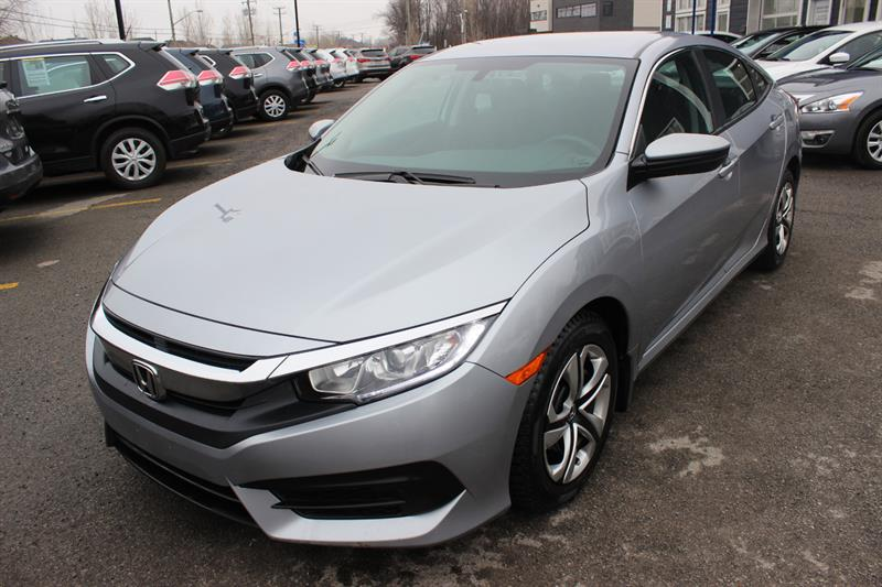 Honda Civic Sedan 2017  LX  #5108