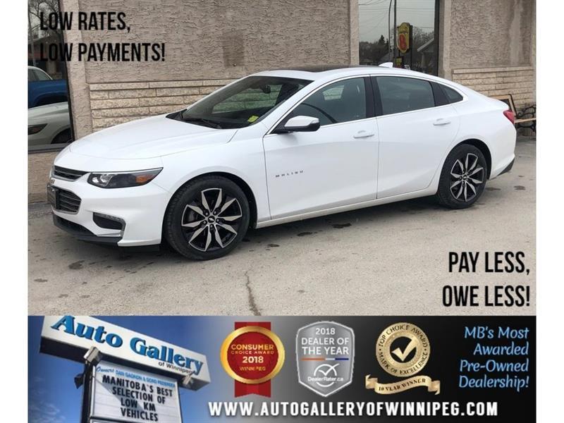 2017 Chevrolet Malibu LT *Htd Lthr/Roof/Navi/Bluetooth #23885