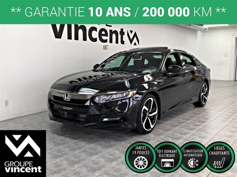 Honda Accord 2018 Sport **GARANTIE 10 ANS** #A3782H