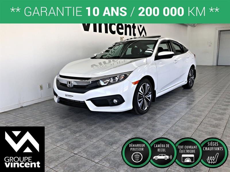 Honda Civic 2018 EX-T **GARANTIE 10 ANS** #C3886H