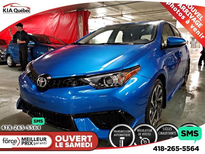 Toyota Corolla iM 2017 SIEGES CHAUFFANTS** CAMERA* #QU10693