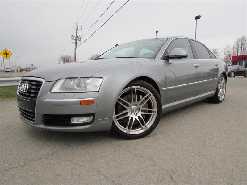 2010 Audi A8 4.2 V8 AWD NAVI CUIR TOIT OUVRANT!!! #4262