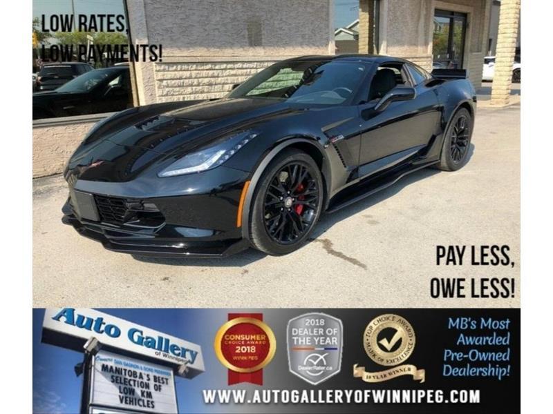 2018 Chevrolet Corvette Z06 3LZ *Supercharged/Lthr/Navi #23347