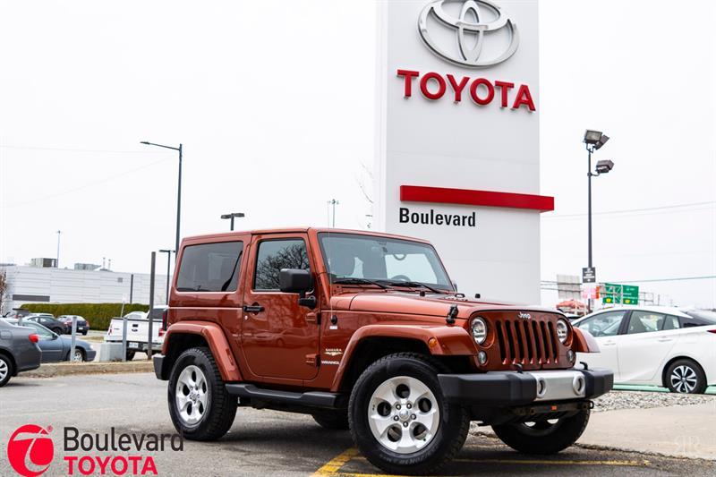 Jeep Wrangler 2014 * SAHARA * #85434A