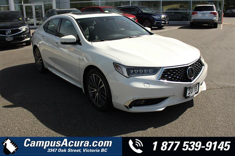 2018 Acura TLX SH-AWD Elite Sedan #AC0990