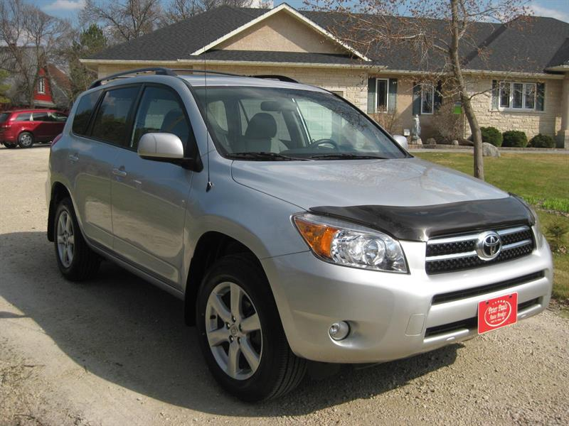2007 Toyota Rav4 Limited 4x4 1Owner #P  4631