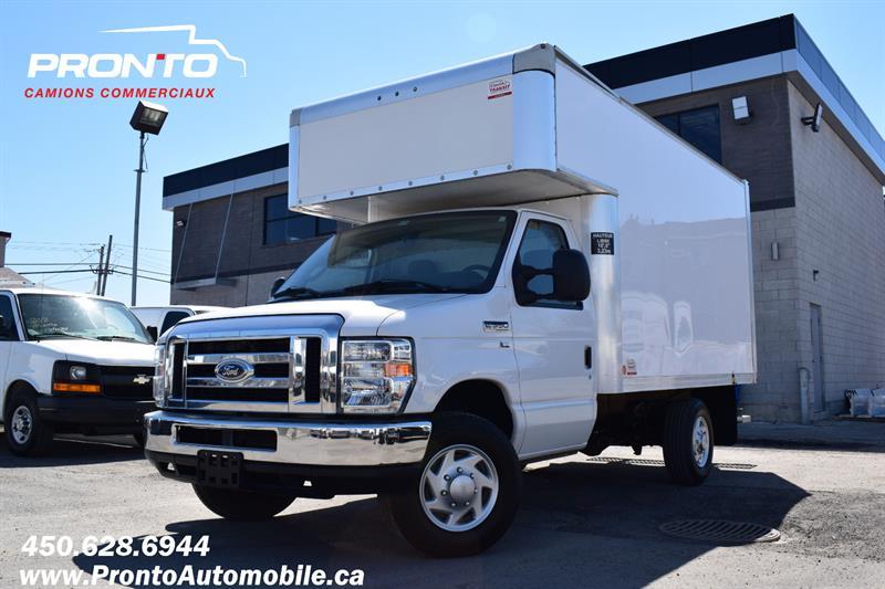 Ford E350 Cube 12 Pieds 2012 ** Deck/ Extension ** Garantie 1 an / 20 000km ** #1846