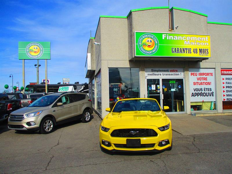 Ford Mustang 2015 2dr Conv EcoBoost Premium #19-083