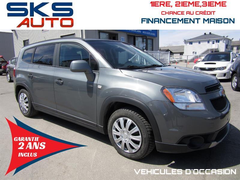 Chevrolet Orlando 2012 7 PASSAGERS (GARANTIE 2 ANS INCLUS) #SKS-4376