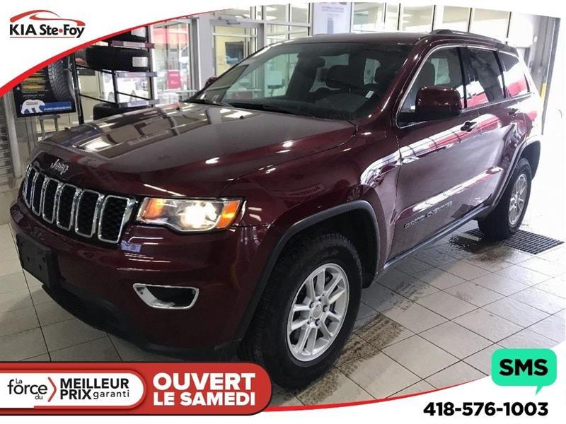 Jeep Grand Cherokee 2018 **LAREDO*4x4*Sièges Chauffants*Caméra de recul* #U2116