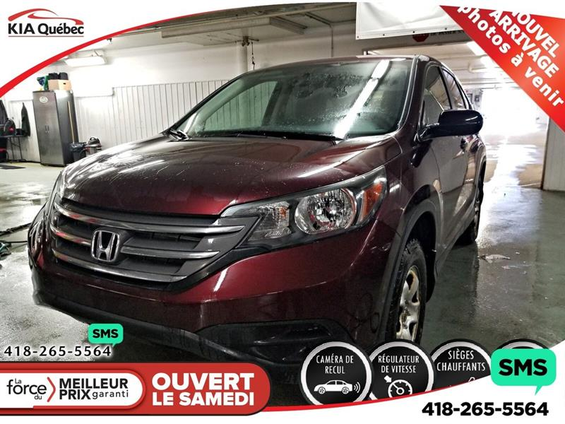 Honda CR-V 2014 LX* AWD* SIEGES CHAUFFANTS* CAMERA* BLUETOOTH* #QU10696